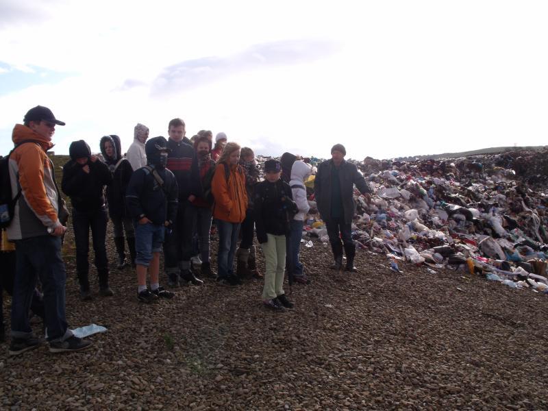 Exkurzia na skládke odpadov v Spišskej Novej Vsi